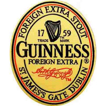 11103- Cerveja Guinness Placa Decorativa De Metal Nova Bar