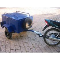 Engate Reboque Pino Bola Para Carretinha Em Moto Cg Ybr