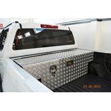 Baú Box Para Caminhonetes Cab Dupla Em Alumínio