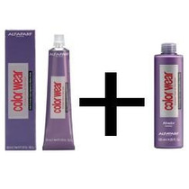 Tonalizante Color Wear Alfaparf 9.21 + Ativador 5vol 120ml