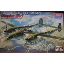P-38 F Maquete Aviao Para Construir 1/48 Completo
