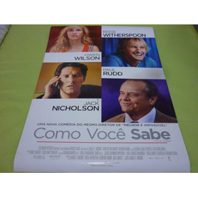 Cartaz Original Dupla-face Do Filme Como Voçê Sabe