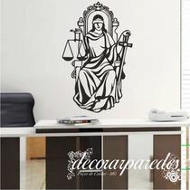 Adesivos Parede Deusa Da Justiça Thémis N 03