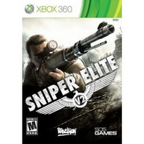 Jogo Sniper Elite V2 Edição Limitada Com Extras Pra Xbox 360
