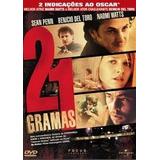 21 Gramas Dvd Sean Penn, Benicio Del Toro, Frete Gratis