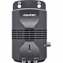 Amplificador De Linha Para Antena Externa 20 Db Al1020 Preto