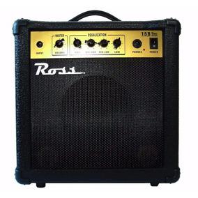 Amplificador Ross B15 P/bajo 15w Unplugged Music