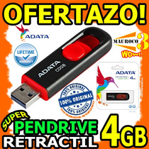 Wow Pendrive Usb 4gb Adata C008 Sellado Blister Original Wow