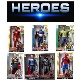 Vingadores Boneco Marvel The Avengers 30 Cm Luz E Som Dc
