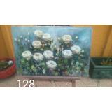 Alvarez Aravena Pintura Rosas 70x100