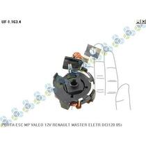 Porta Escova Motor Partida Valeo 12v Renault Master 05/...