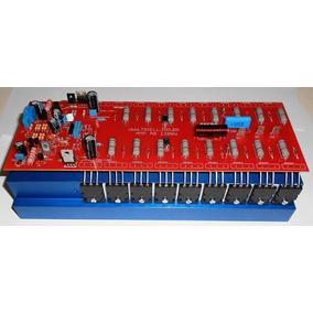 Amplificador De Audio 1200w Ab 2 Ohms Placa Lisa Pra Montar
