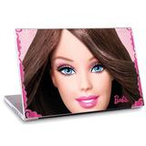 Skin Adesivo Notebook Papel Parede Desenho Barbie Skdi1680