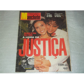Revista Manchete Morte Daniela Perez Juri Nº 2316 Ago 1996