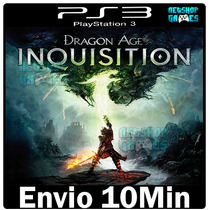 Dragon Age Inquisition Original Legendad Pt Br Ps3 Play3 Psn