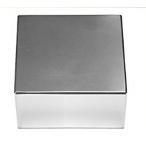 Ímã Neodímio Bloco 2x2x1 Ou 50,8x50,8x25,4 Mm Sup Forte N35
