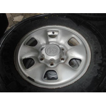 Roda + Pneu De Toyota Hilux Aro 16 ( Avulsa )