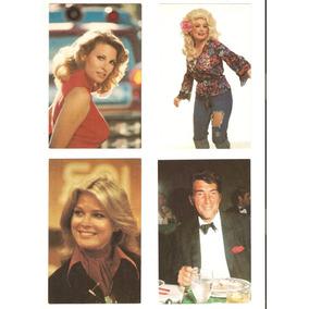 Cartão Postal Rara Coleção Lindsay Wagner Cher Cheryl Ladd