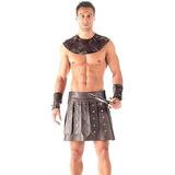 Fantasia Gladiador Com Caneleiras (performer Angels