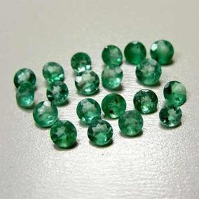 Lote De Esmeralda Com 20 Pedras..só R$ 50.00.1.50 Mm