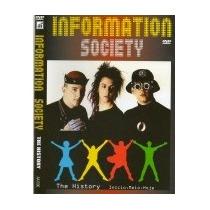 Dvd Information Society - The History Original E Lacrado