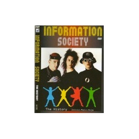 Dvd Information Society - The History Original E Lacrado