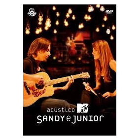 Dvd Original Sandy E Junior - Acústico Mtv