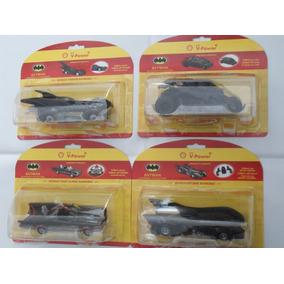 Coleção Completa Da Shell 4 Carros Do Batman Lacrados