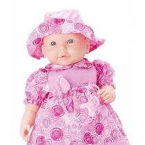Boneca Bebê Baby Bla Bla Grande 48cm Fala 100 Frases C/ Nota