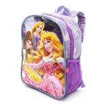 Mochila Frozen Princesas Pequeño Pony Original 12 Pulgadas