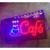 Remato! Cartel Alta Luminosidad Led - Cafe - Bar Kiosco