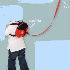 Mochila Para Bebe Ajustable Niño Niña Paseo De Niños.