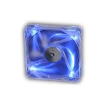 Cooler Fan Akasa Crystal C/ 4 Led´s - Azul 8x8 Cm Ak-170cb