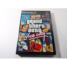 Gta Vice City Original Novo Lacrado Ps2 Black Label Play2