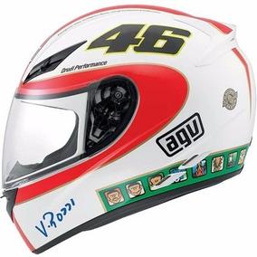 Capacete Agv K-3 Icon Valentino Rossi 64/xxl