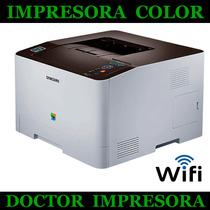 Impresora Samsung Laser Color C1810w, 18 Ppm Wifi Red Tienda