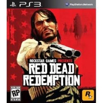 Jogo Midia Fisica Red Dead Redemption Rockstar Play Ps3