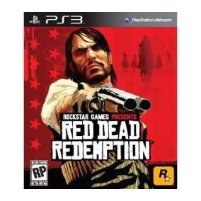Jogo Midia Fisica Red Dead Redemption Rockstar Play Ps3