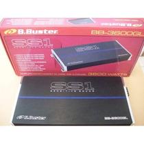 Modulo B.buster Ss1 Bb3600 Gl 3600w 4 Canais 1200wrms