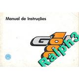 Manual Do Proprietário Vw Gol 1000 96