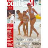 Revista Contigo 1582 Fátima Bernardes Biquini Piovani 2006