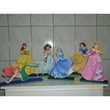 Kit Display Enfeites Princesas Isopor Ou Eva R$15,00 Cada