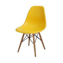 Cadeira Design Dkr Charles Eamens Base Madeira
