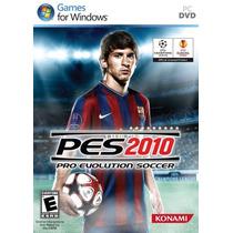 Jogo Pro Evolution Soccer 2010 Pes 2010 Para Pc Frete Grátis