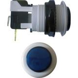 Botão De Comando Liga Desliga Power Chave (azul)