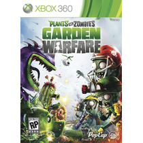 Plants Vs Zombies Garden Warfare Port Mídia Física Xbox 360