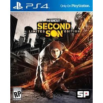 Infamous Second Son Limited Edition - Ps4 + 6 Dlcs