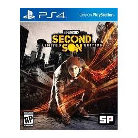Infamous Second Son Limited Ps4 Psn Envio Digital Imediato ²