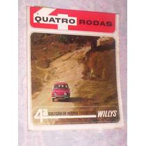 Quatro Rodas 4ª Coleção Mapas Turisticos Willys