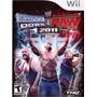 Jogo Wwe Smackdown Vs Raw 2011 Nintendo Wii Luta Livre Wwf
